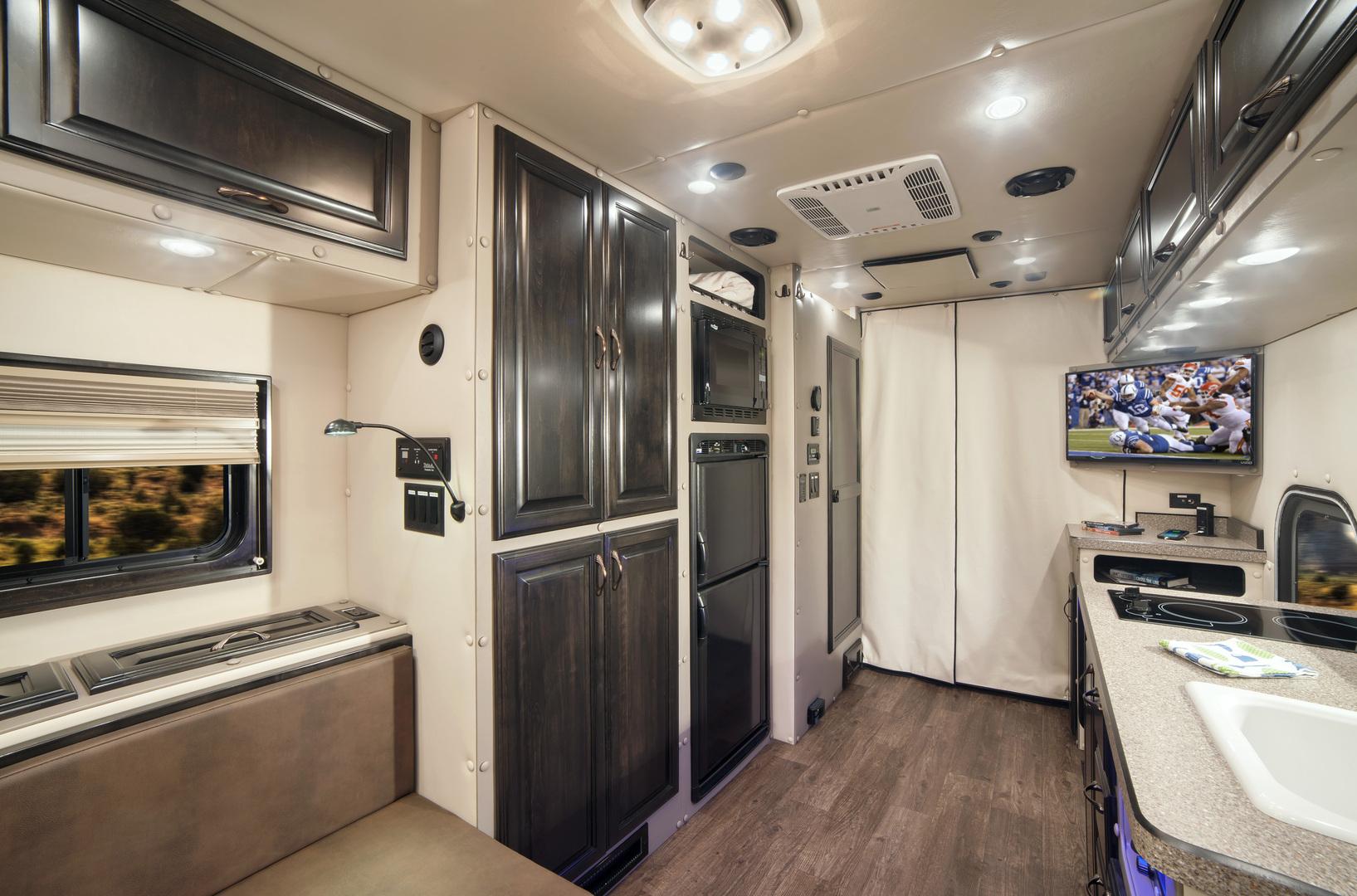 Custom sleepers ari legacy sleepers for Custom semi truck sleeper interior